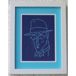 Fernando Pessoa azul