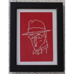 Fernando Pessoa vermelho