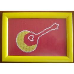 Guitarra amarela
