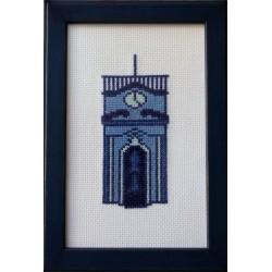 Torre da Universidade azul